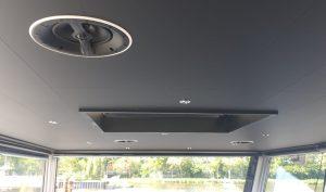 Stuurhut Matte Black plafond - Scheepsinterieur - Dijkmans B.V.
